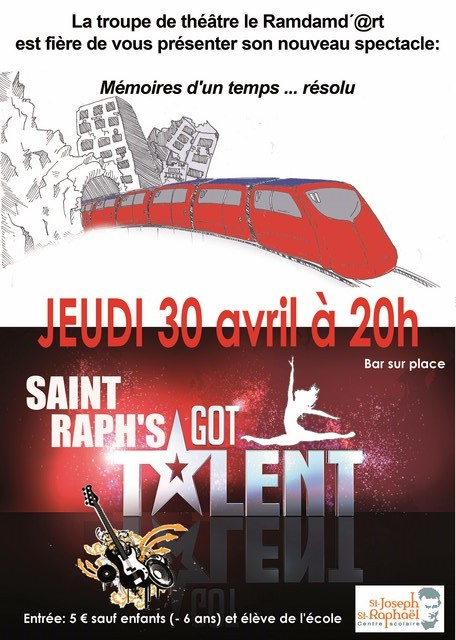 Piece de theatre Saint Raph